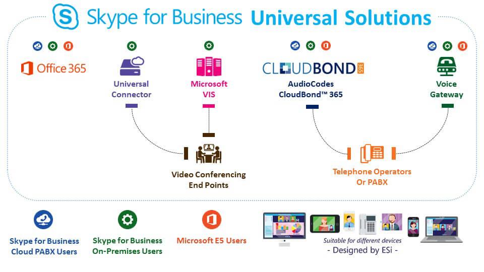 Skype for Business (Former: Microsoft Lync)   ESi