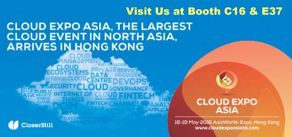 Cloud Expo Asia 2016: Hong Kong