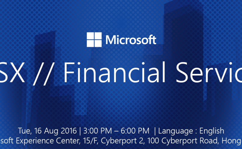 MSX // Financial Services Seminar & Showcase