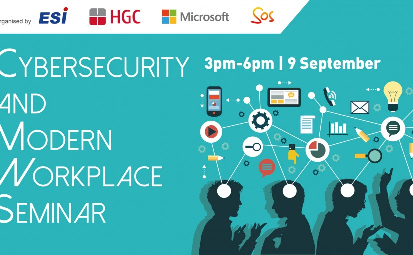 Cybersecurity and Modern Workplace Seminar with HGC, Microsoft & SOS
