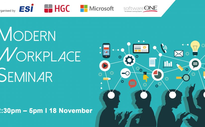 Modern Workplace Seminar with HGC, Microsoft & SoftwareONE