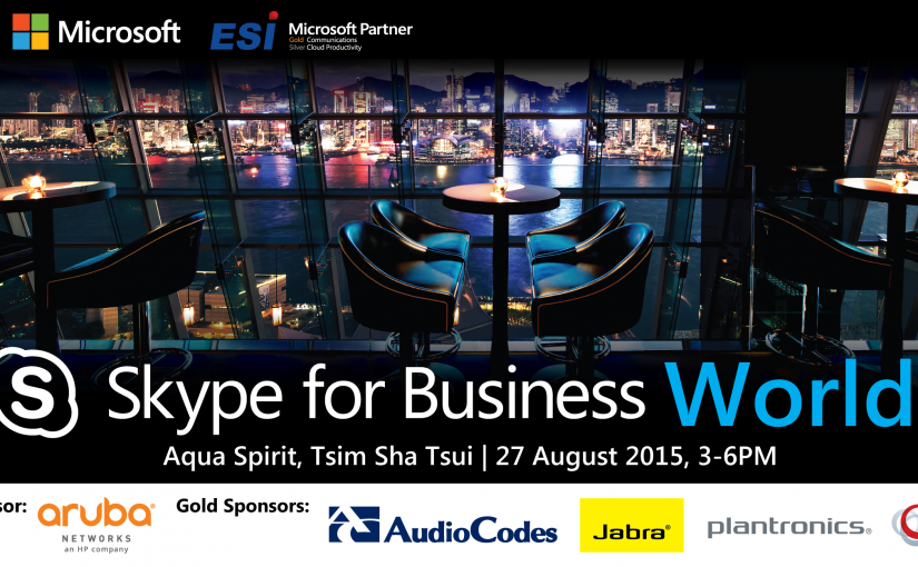 ESi Skype for Business Experience World