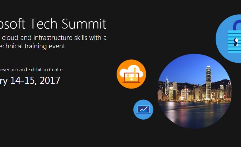 Microsoft Tech Summit 2017