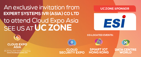 Cloud Expo Asia 2017 – The Unified Communication Zone