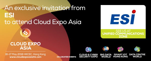 Cloud Expo Asia 2018 – The Unified Communication Zone