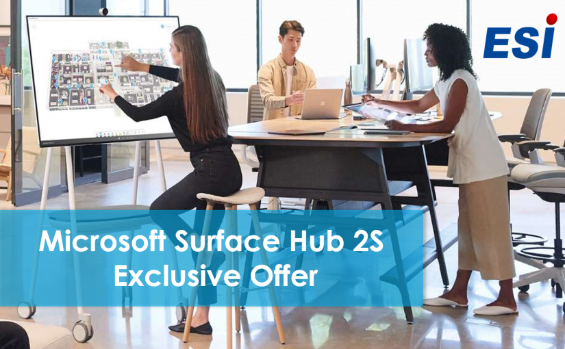Microsoft Surface Hub 2S Special Offer
