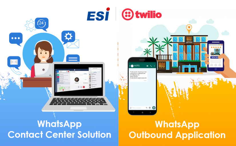 Twilio WhatsApp Contact Center Solution and Outbound Application