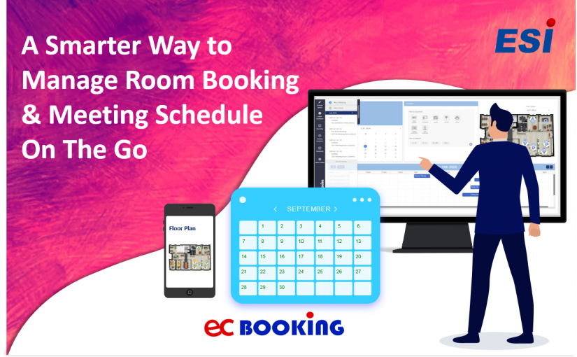 A Smarter Way To Manage Room Booking and Meeting Schedule On The Go